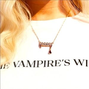 H&M The Vampires Wife Limited Collection Necklace
